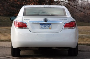2012 Buick LaCrosse eAssist rear view