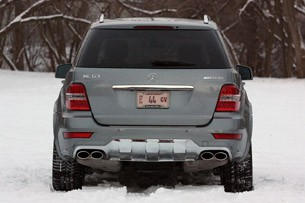 2011 Mercedes-Benz ML63 AMG rear view