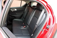 2011 Lexus CT 200h rear seats