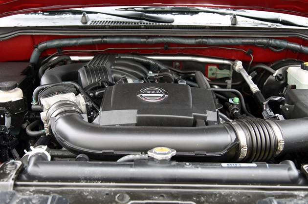 2011 Nissan Xterra Pro-4X engine