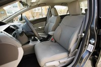 2012 Honda Civic front seats