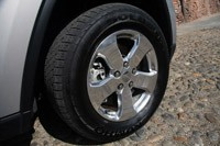 2011 Jeep Grand Cherokee 3.0 CRD wheel
