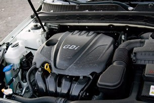 2011 Kia Optima EX engine