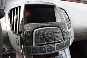 2012 Buick LaCrosse eAssist instrument panel