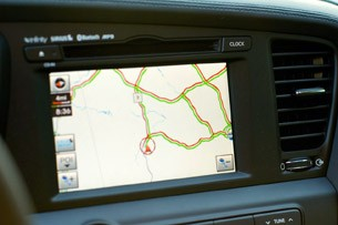 2011 Kia Optima EX navigation system