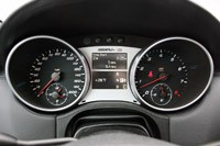 2011 Mercedes-Benz ML63 AMG gauges