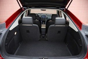 2011 Chevrolet Volt rear cargo area
