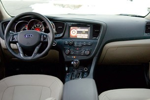 2011 Kia Optima EX interior