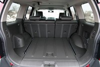 2011 Nissan Xterra Pro-4X rear cargo area