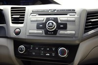 2012 Honda Civic instrument panel
