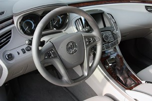 2012 Buick LaCrosse eAssist interior