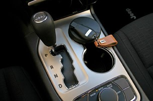 2011 Jeep Grand Cherokee 3.0 CRD shifter
