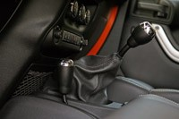 2011 Jeep Wrangler Unlimited 2.8 CRD shifter