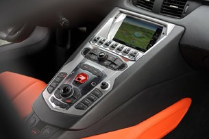 2012 Lamborghini Aventador LP700-4 instrument panel