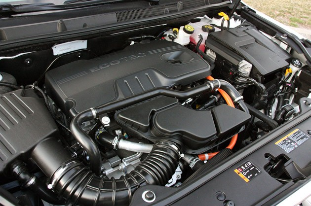 2012 Buick LaCrosse eAssist engine