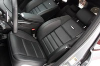 2011 Mercedes-Benz ML63 AMG front seats