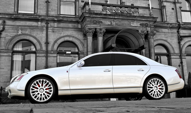 project kahn royal wedding commemorative maybach 57