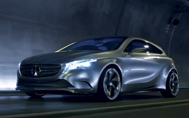 Mercedes-Benz Concept A-Class video screencap
