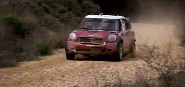 mini john cooper works wrc car