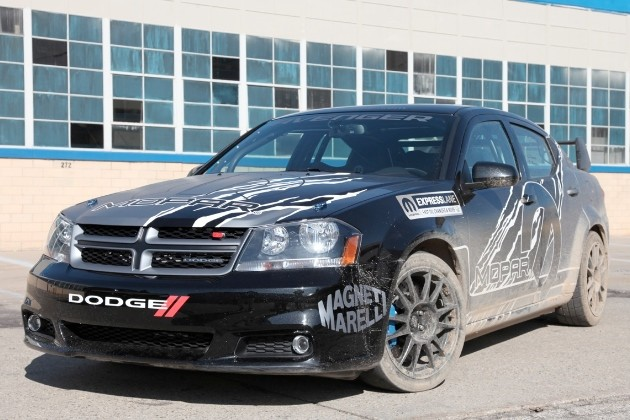 Mopar Avenger Rally Car
