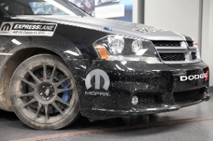 Mopar Avenger Rally wheel