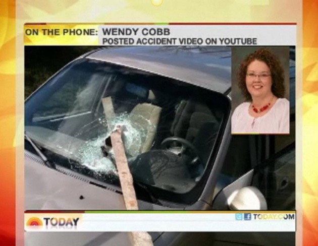 Motorist Wendy Cobb on NBC's Today Show