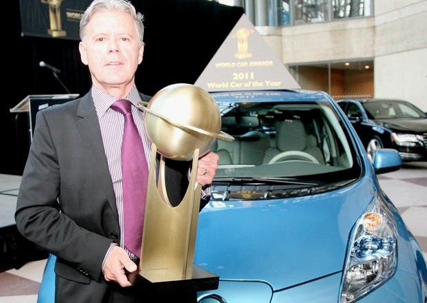 2011 Nissan Leaf wins World Car of the Year