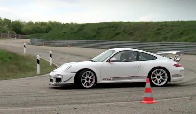 porsche 911 gt3 rs 4.0 on the Porsche development test track