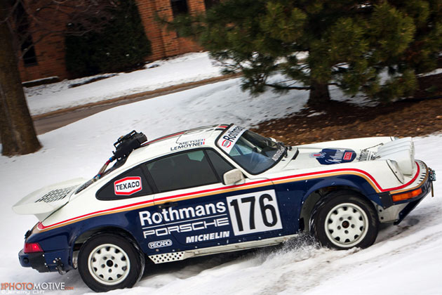 1989 Porsche 911 Rothmans tribute car