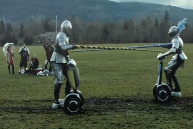 Segway Jousting by the Washington Lottery