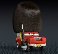 Sgt. Highgear in Pixar's CARS 2