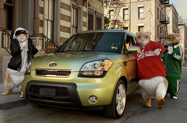 Kia Soul Hamsters in