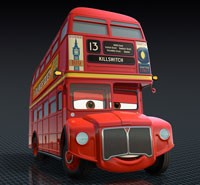 Topper Deckington III in Pixar's CARS 2