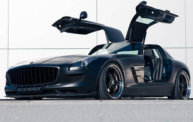 Mercedes Benz Sls Amg Stealth Model. The Mercedes-Benz SLS AMG