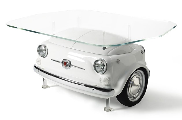 Picnic table from the Fiat 500 Design Collection