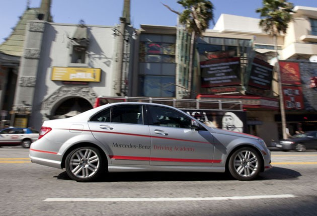 Mercedes benz usa launching its first teen driving school for Mercedes benz parts los angeles