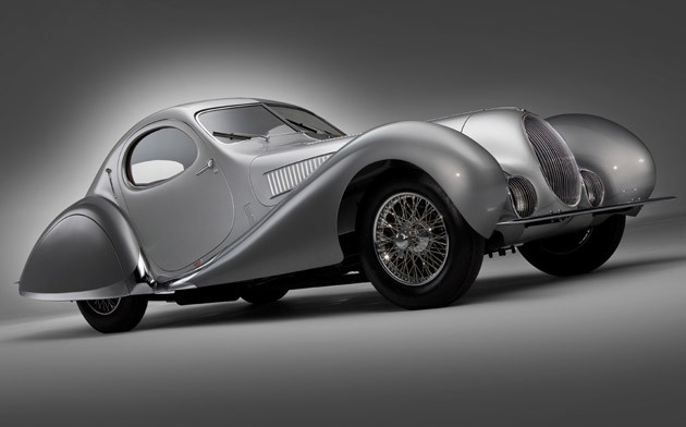 1938 Talbot-Lago T150C-SS Teardrop Coupe - chassis #90112