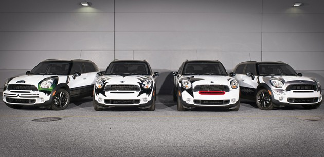 kiss custom mini countryman