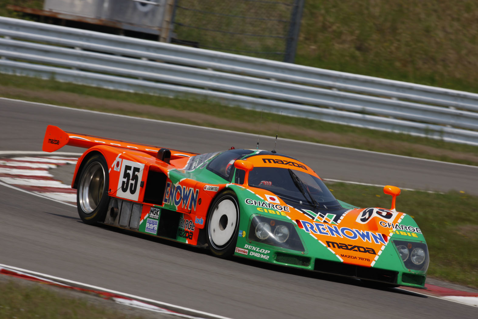 mazda 787b restored returning to le mans for 20th anniversary of win autoblog
