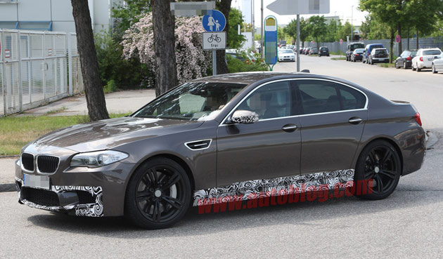 2012 Bmw M5 Inches Closer To Production In A Stunning Shade Of Brown