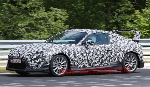 Scion FR-S spy shots