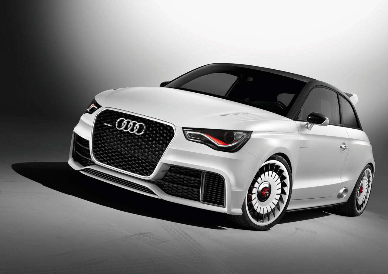 audi unveils 500hp a1 clubsport quattro show car at w rthersee autoblog. Black Bedroom Furniture Sets. Home Design Ideas