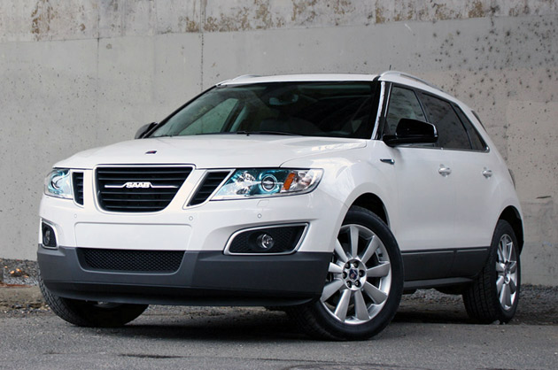 2012 Saab 9-4X earns IIHS Top Safety Pick