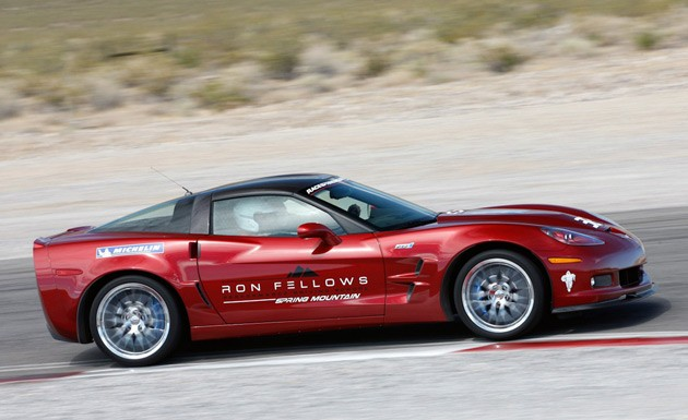 Corvette ZR1 at the Ron Fellows Driving School