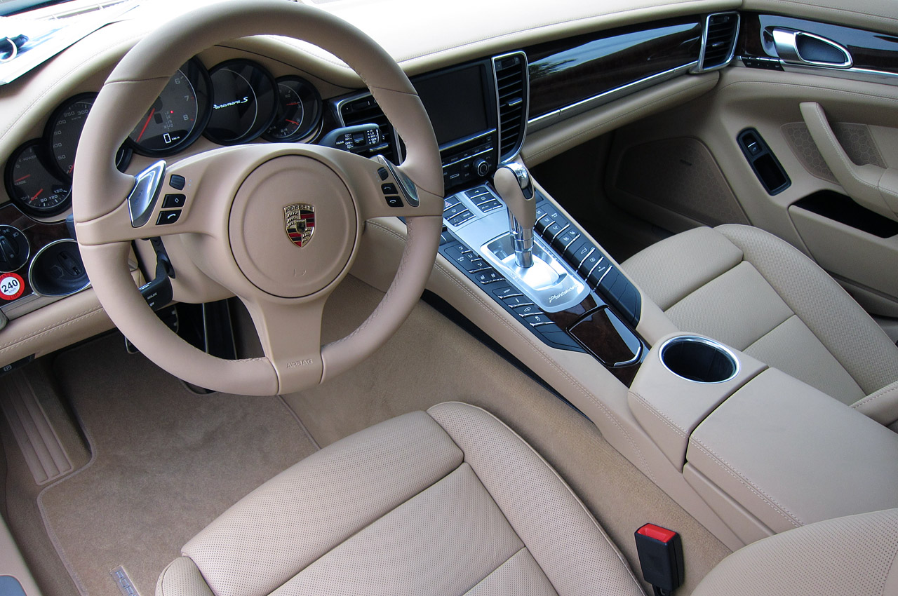 2012 porsche panamera s hybrid first drive photo gallery autoblog for Porsche panamera interior dimensions