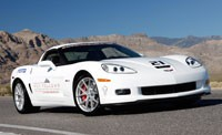 Corvette Z06 at Ron Fellows Driving School