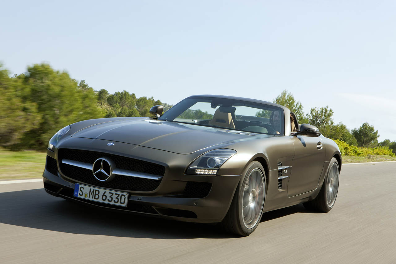 Mercedes benz sls amg roadster wallpaper for 2012 mercedes benz sls amg