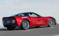 Corvette ZR1 at Ron Fellows Driving School