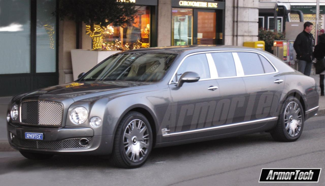 Bentley Mulsanne Stretches Out Thanks To Armortech Motors