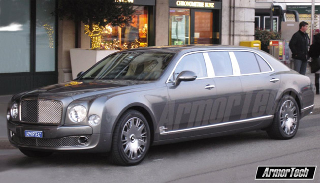 2011 Bentley Mulsanne ArmorTech
